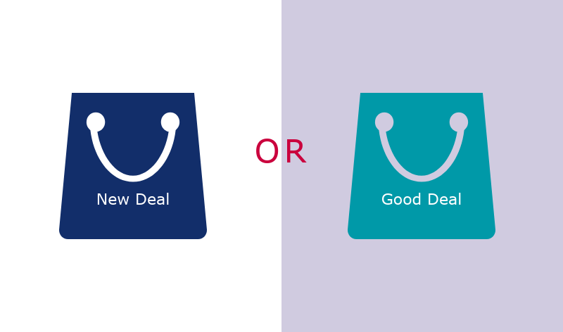 Before implementing a New Deal, a Good Deal for consumers must be secured.