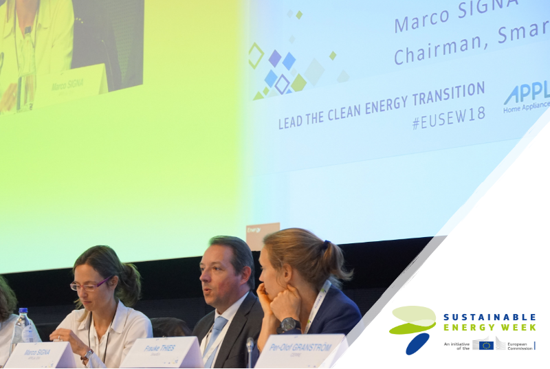 EUSEW18: The intelligent use of energy goes beyond energy efficiency